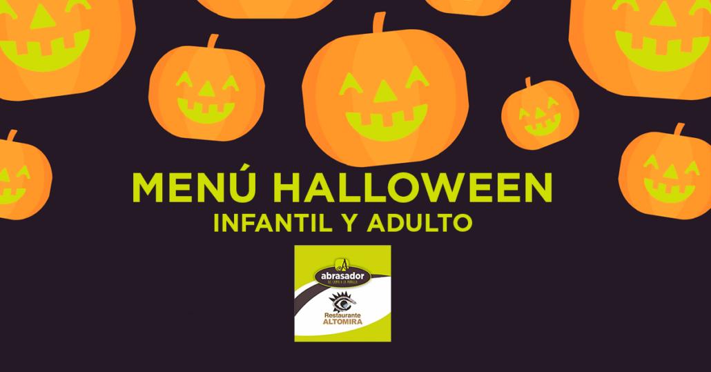 Menú Halloween 2019 Abrasador Altomira