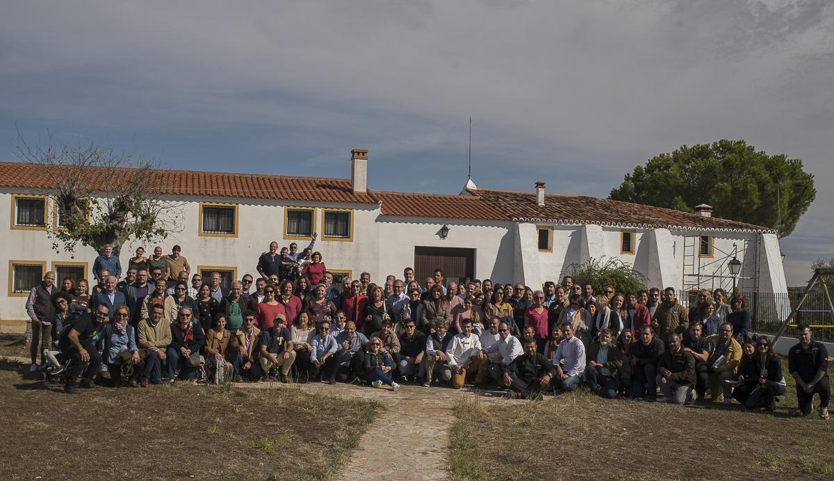 Foto grupo fiesta Abrasador 2019