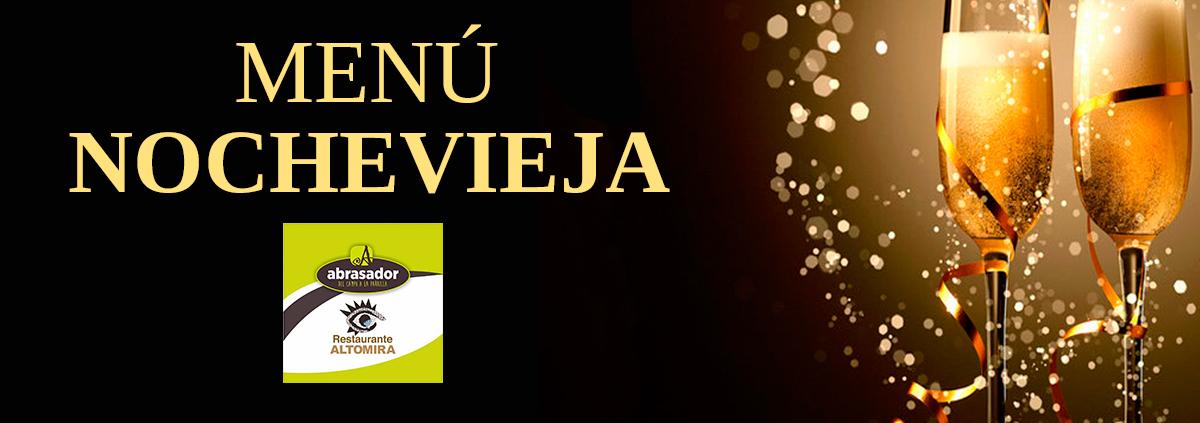 Menú Nochevieja Altomira 2019
