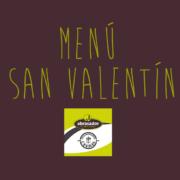 Menú San Valentín Abrasador Cánovas