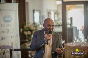 Julio Ramirez presenting the conference