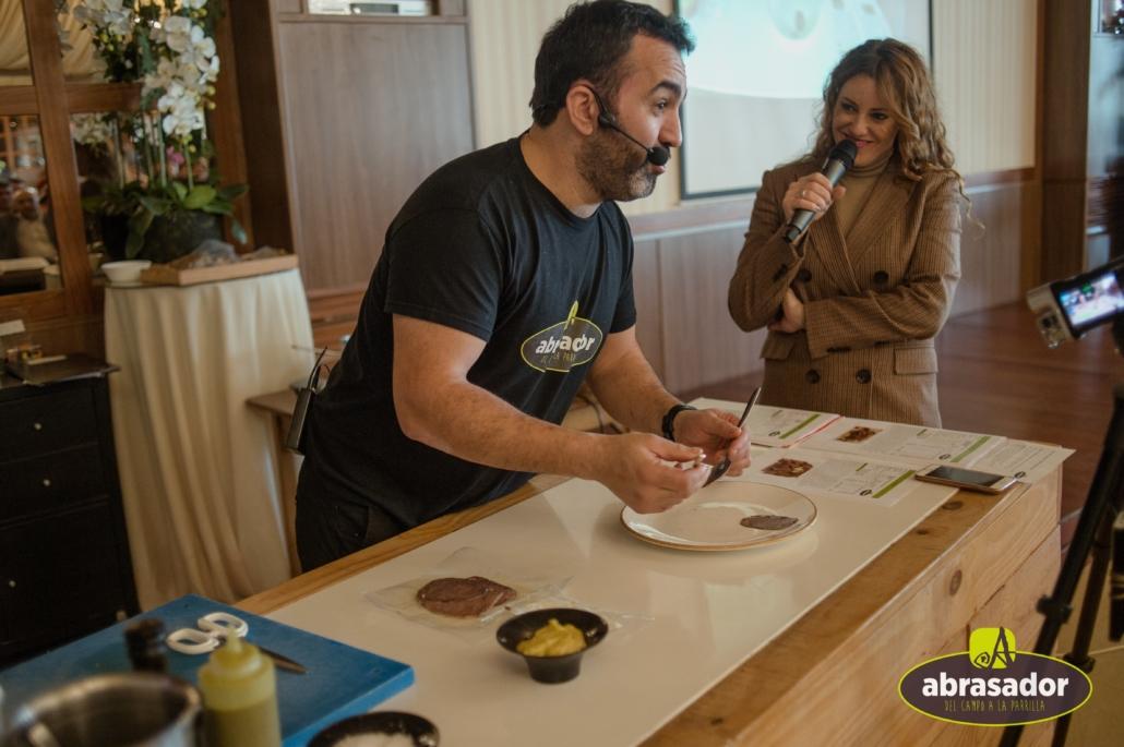 show cooking Carlos Torres