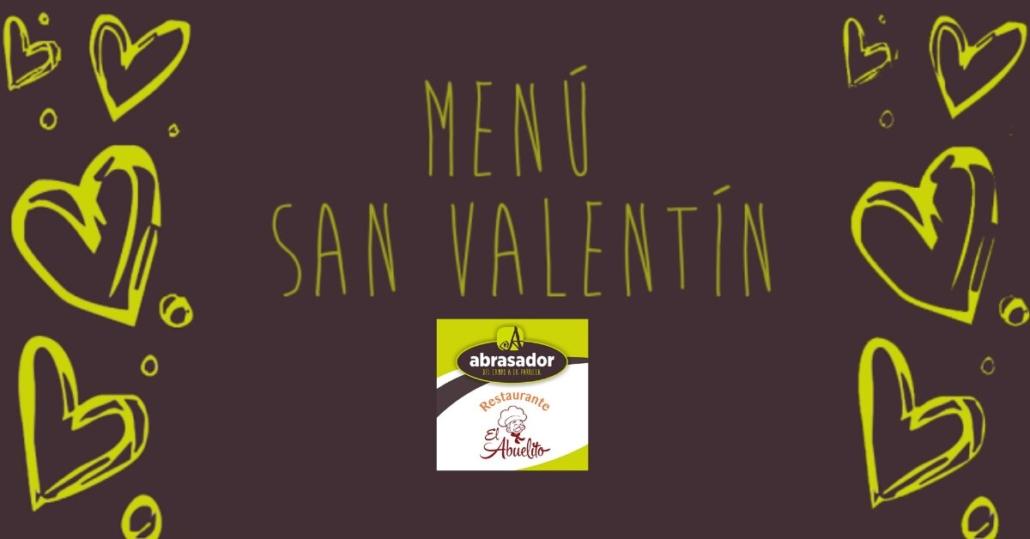 Menú San Valentín Abrasador El Abuelito