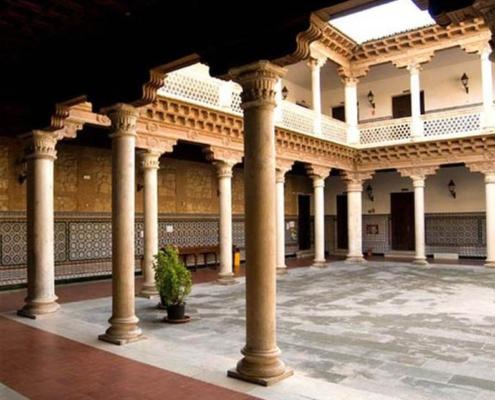 Convento de la piedad y Palacio de Antonio Mendoza