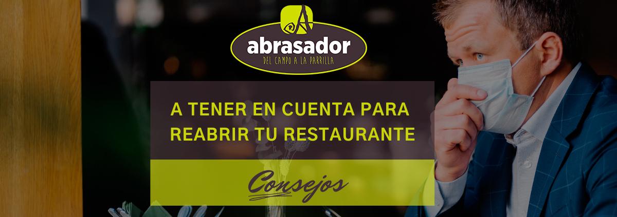 Consejos para reabrir tu restaurante después del Covid-19