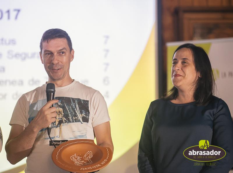 Luz y Javier en El Mirador