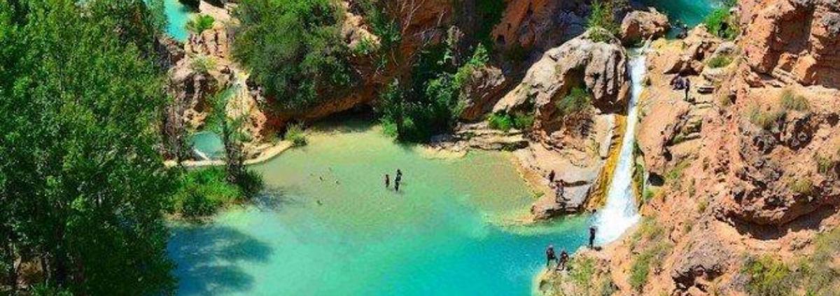 Las Chorreras del río Cabriel, o de Enguídanos