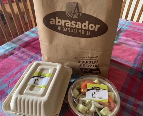 La comida Abrasador llega a tu casa