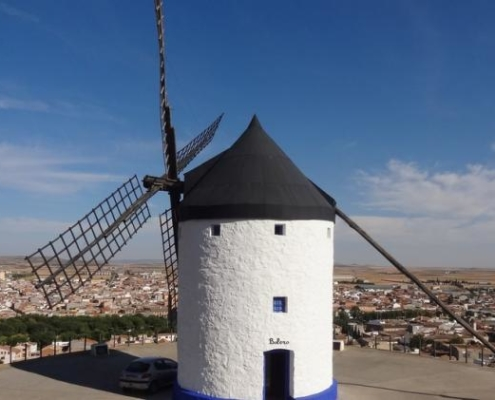 Windmill converted into the Tourist Office