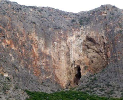 Smoked Cave of the Sierra de Callosa de Segura