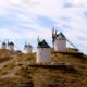 Algunos de los molinos de viento aún funcionan desde su fabricación