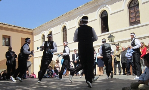 One of the dances of the Cofradías