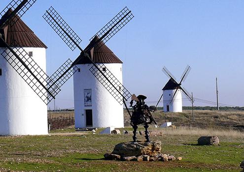 Los molinos de viento, un icono de Castilla-La Mancha
