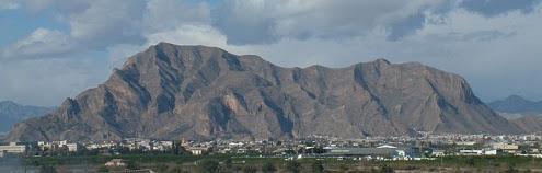 Panoramic view of the Sierra de Callosa de Segura