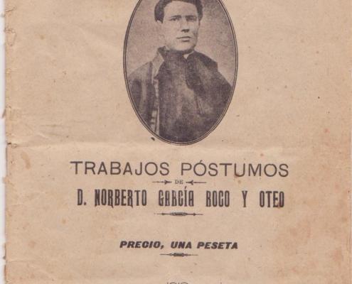 Folleto Norberto Antonio García Roco