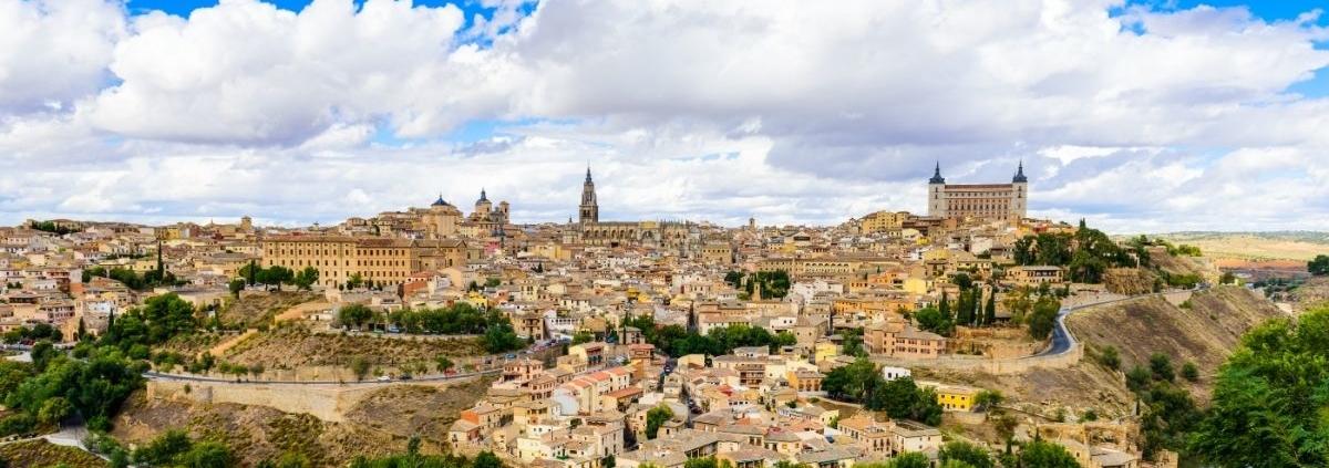 Vista panorámica de Toledo