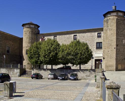 Fachada Palacio Ducal/castillosdeolvido