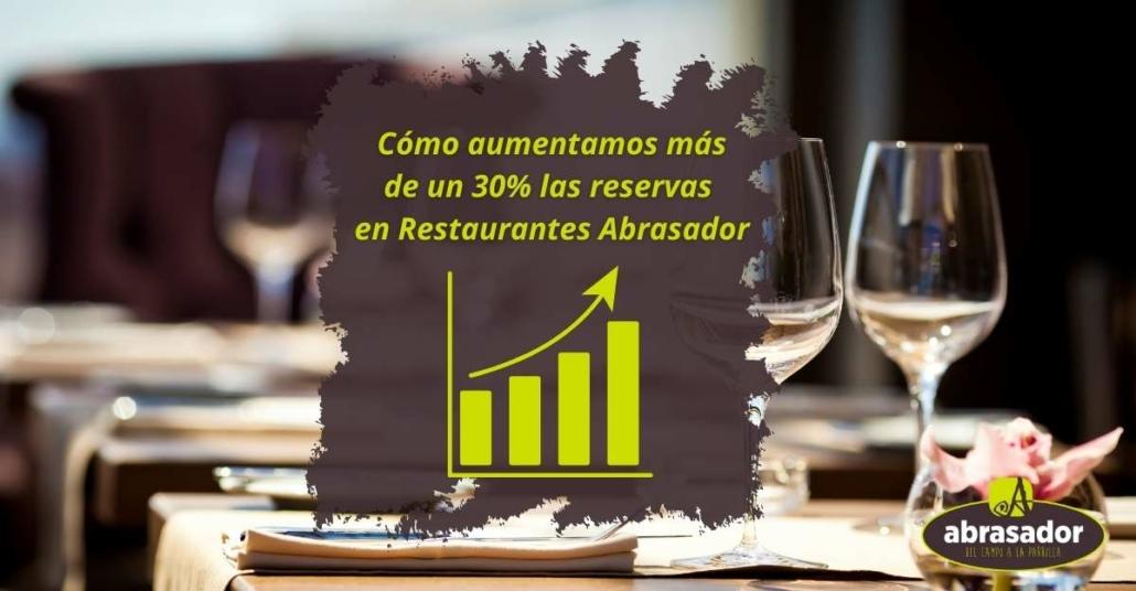 Restaurantes asociados Abrasador aumentan mas de 30% las reservas