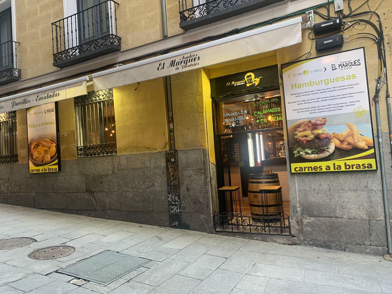 Fachada Restaurante El Marques