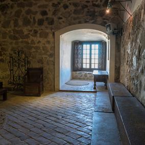 Interiores del castillo de Consuegra