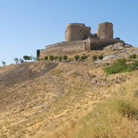 Otra perspectiva del castillo de Consuegra
