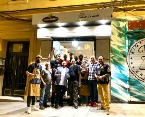 Inauguración nuevo establecimiento Abrasador Paco Prado
