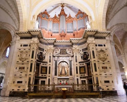 Interior de la Catedral de Murcia