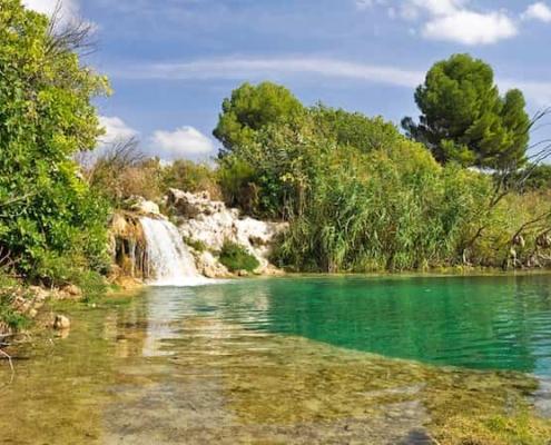 Una de las lagunas del Parque Natural