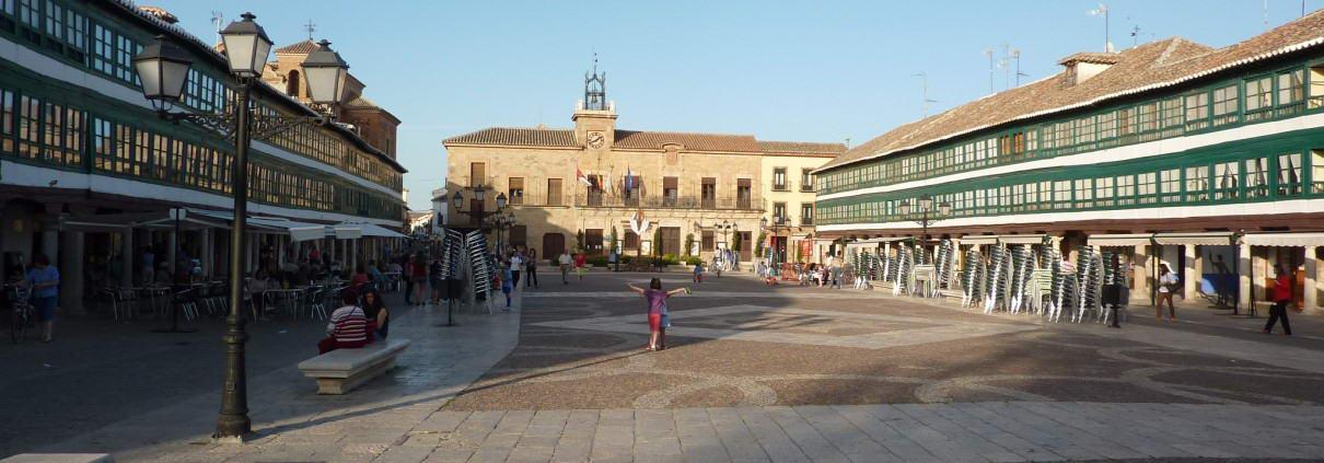 Plaza Mayor de Almagro al lado de Abrasador de Almagro