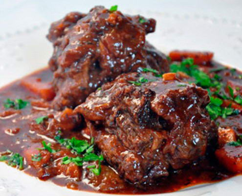 Oxtail dish