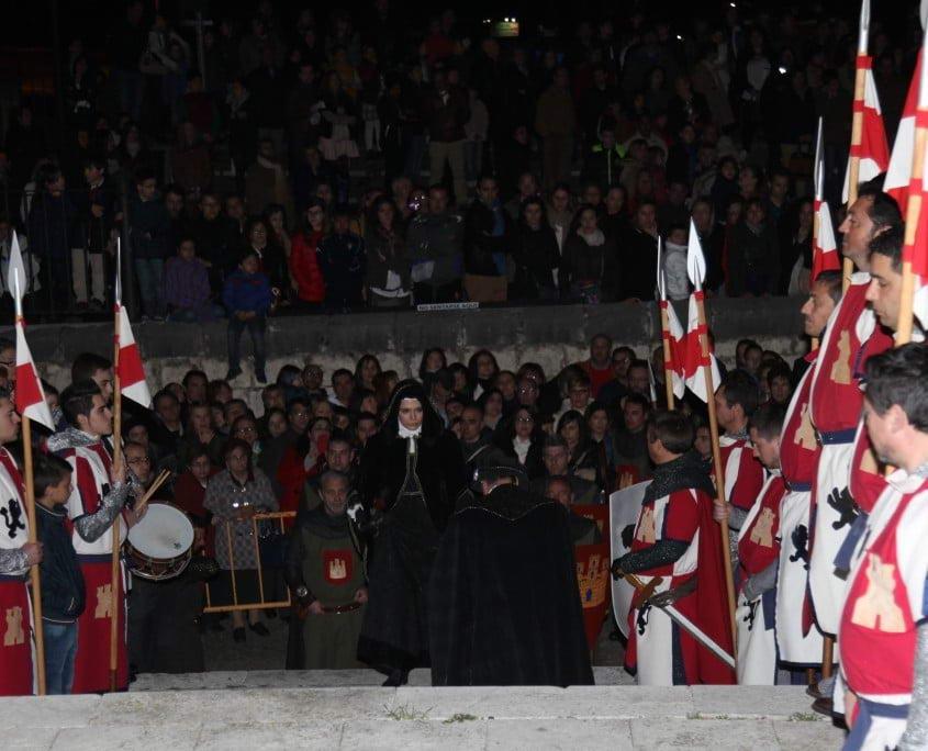 Tordesillas, llegada de la Reina Juana I