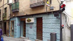 Scorching Restaurant facade Ambigú