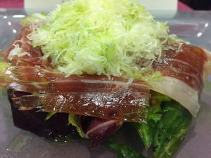 Scorching salad