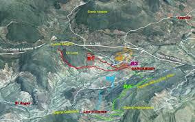 mapa rutas